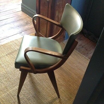vintage Ben chair hille stag thonet era.