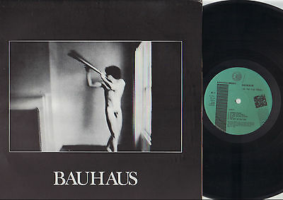 Lp Bauhaus In The Flat Field Made In Italy 1981 Expandedmusic 4Ad Records