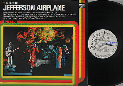 Lp The Best Of Jefferson Airplane Made In Italy Promo White Label Rca Lineatre