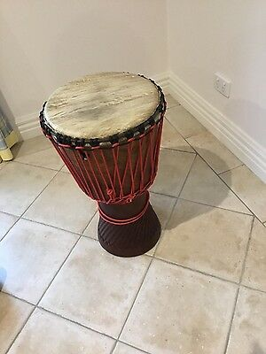 AFRICAN DJEMBE DRUM .....HAND MADE Only used for few lessons