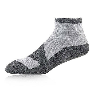 Sealskinz Thin Hombre Gris Impermeable Caminar Trekking Socklet Calcetines