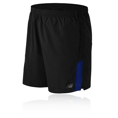 New Balance Accelerate 7 Inch Hombre Azul Negro Running Shorts Pantalones Correr