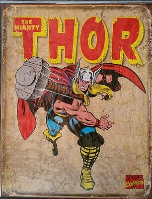 Thr Mighty THOR Retro new sign. Made in the USA.