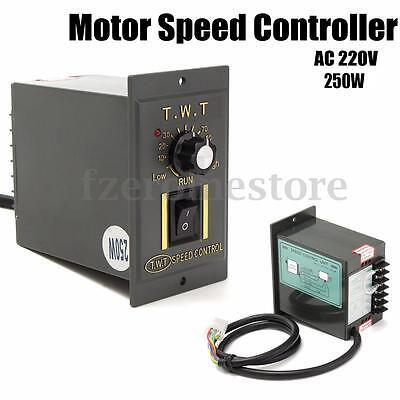 AC 220V 250W Electronic Motor Speed Controller Variable Adjustable Converter