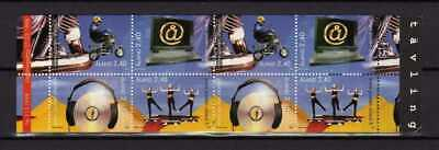 13848) ALAND 1998 MNH** Youth, Internet, Music, Motorbike