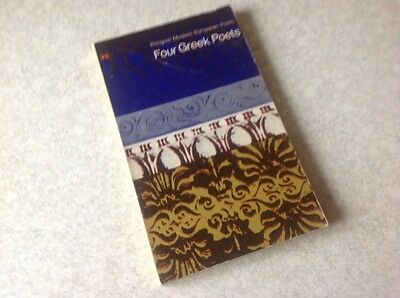 Four Greek Poets. Penguin first edition (D91) published in 1966