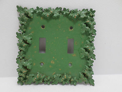 Light Switch Cover Florenta of California Cast Metal Vintage