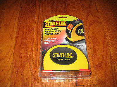 Strait-Line 64001 Laser Level  NEW - GENUINE PRODUCT - NEW IN PACK