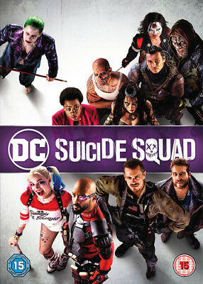 Suicide Squad DVD (2016) Will Smith, Ayer (DIR) cert 15 ***NEW*** Amazing Value
