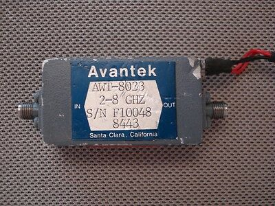 Avantek  AWT-8033 2 - 8 Ghz RF Amplifier