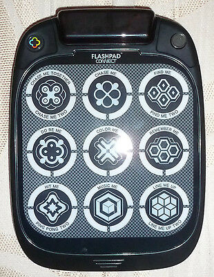FLASHPAD CONNECT LED Touchscreen Handheld Console with 9 Games Multi Colours NEW