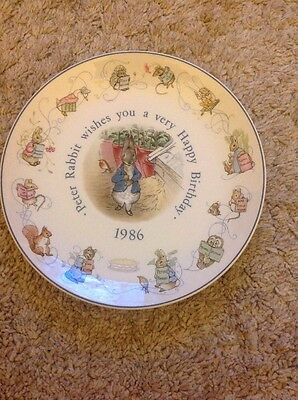 Vintage Collection Of Wedgwood Beatrix Potter Plates