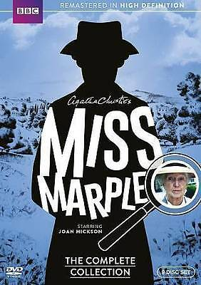 BRAND NEW SEALED Miss Marple: The Complete Collection (DVD, 2015, 9-Disc Set)