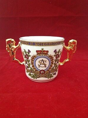 PARAGON COMMEMORATIVE LOVING CUP of PRINCE ANDREW & SARAH FERGUSON WEDDING 1986