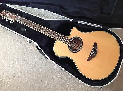 Yamaha APX700-12NT 12-String Electro-Acoustic Guitar With Gator Hard Case
