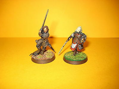 Herr der Ringe - Lord of the Rings - Aragorn + Eowyn aus Metall