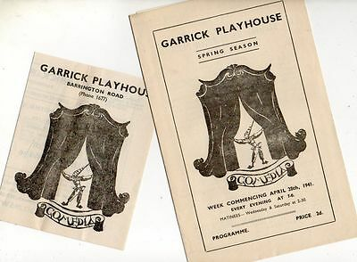 "Altrincham Garrick Playhouse 1941 ""The Brontes"" Patience Collier Mary Martlew"
