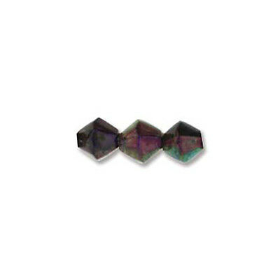 Mood Mirage Beads Color Changing Beads 43804 (50) 5mm Bicone Small Spacer