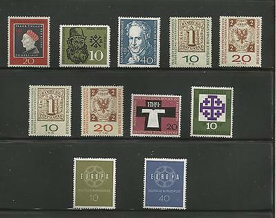 Allemagne Federale - Lot Timbres Neufs* - 1959 - Voir Scan -