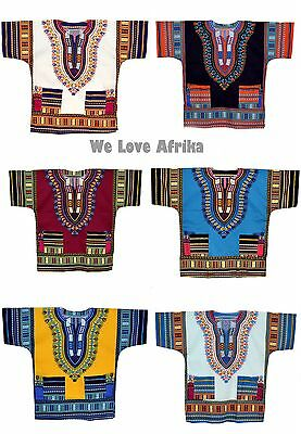 African Dashiki Fairtrade Shirts, Tribal Dress Unique Christmas Ethnic Gifts