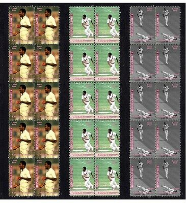 Malcolm Marshall Cricket Legednd Set Of 3 Mint Stamps 2