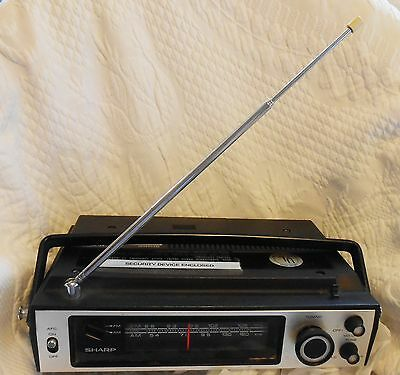 Vintage SHARP AM FM RADIO FX-200A Electric and Battery