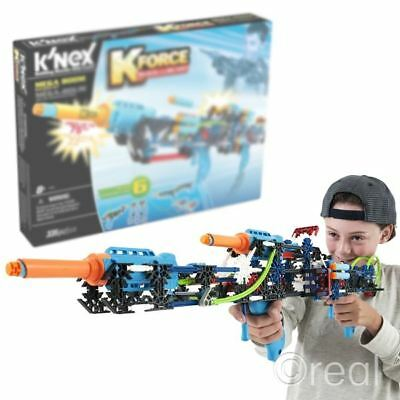 New K'nex Kforce Mega Boom Building Set Build And Blast 6 Blasters Official