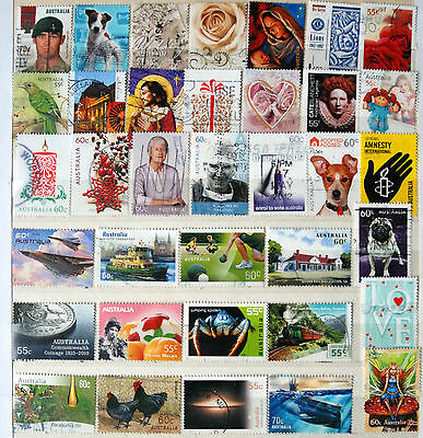 Great Collection of Used Australian Sheet Stamps.