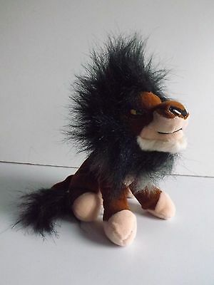 Disney Store The Lion King Scar Beanie Toy With Tags