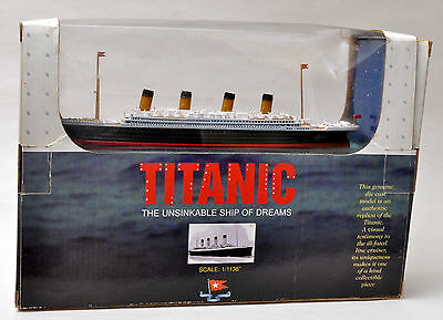 Claytown Collection-1/1136 Titanic White Line Metal Ship Model NEW 1/72 (KL)