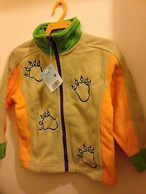 Official Gruffalo fleece jacket 4 to 5 years Brand new