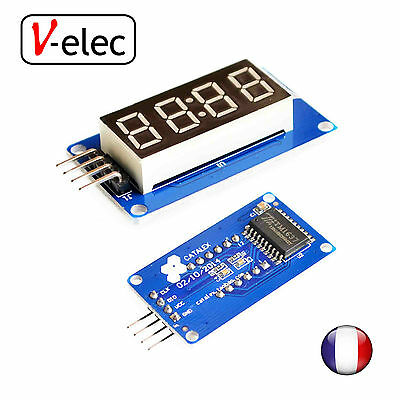 1093# 4 digital display with adjustable brightness LED for arduino
