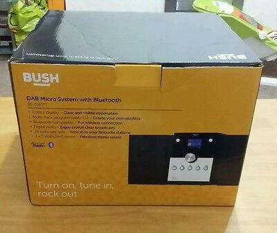 Bush Bluetooth DAB Micro System Colour Screen - BD-618TFT- Faulty Spares Repairs