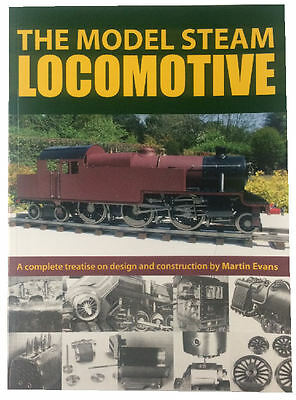 The Model Steam Locomotive by Martin Evans / trains loco rdgtools hobby book