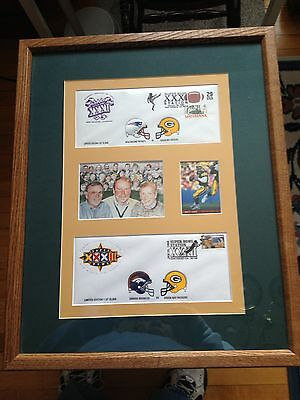 Green Bay Packer Super Bowl Collectable...framed...limited Edition