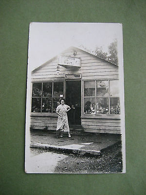 Carte photo - commerce - Burges Hill ?????(tampon)