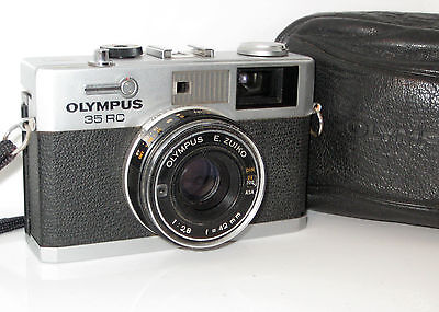 Olympus 35Rc 35 Rc   Serviced  100% Funzionante Full Working