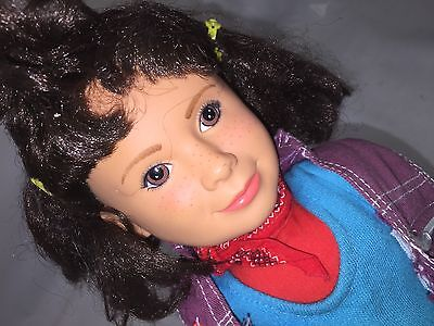 """Punky Brewster Doll - 80's TV - 1984 doll 20"""" - Quirky Fun Doll - Colorful Cute"""