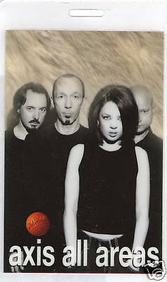 **** Garbage ****  - Aaa - Laminated Backstage Pass - Axis All Areas - Excellent