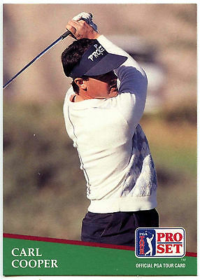 Carl Copper #152 PGA Tour Golf 1991 Pro Set Trade Card (C321)
