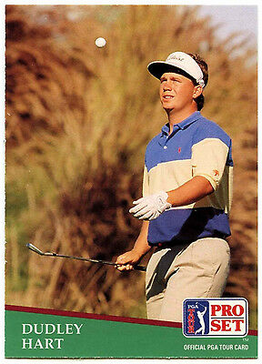 Dudley Hart #68 PGA Tour Golf 1991 Pro Set Trade Card (C321)