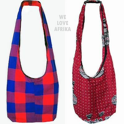 Fairtrade African Tribal Ethnic Boho Totes, Handmade Shoulder Bags Holiday Gifts