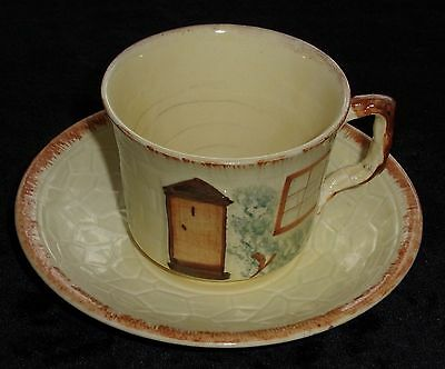 Keele Street Pottery/1 Cup And Saucer