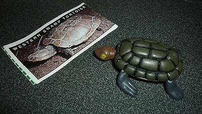 Colectable Australian Yowie Toy With Papers, Western Swamp Turtle