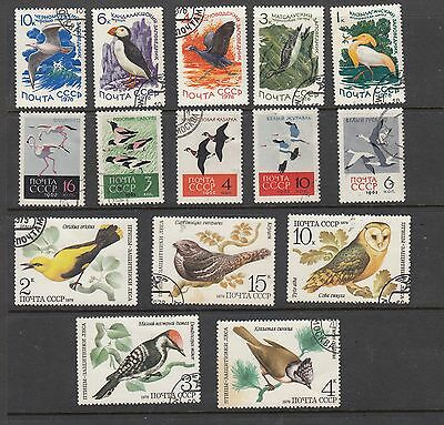 RUSSIA BIRD  STAMPS USED .Rfno.173.