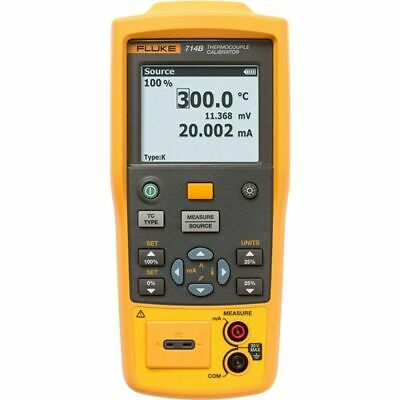 Fluke 714B Temperature Calibrator. Measure 4 to 20mA Signals