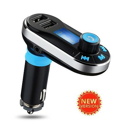 Wireless Bluetooth FM Transmitter MP3 Player Car Kit Charger for iPhone 7 6S 6 5