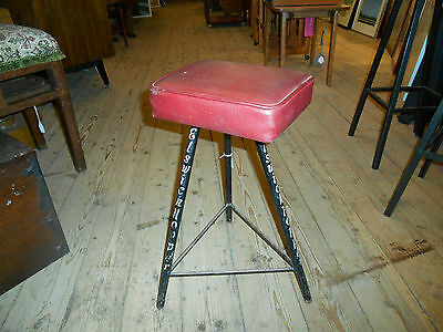 Elswick Hopper Bicycles Retro Industial Stool Sputnik shape 1950s very rare