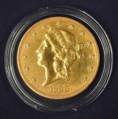 1900 $20 Gold Liberty Double Eagle **FREE USPS PRIORITYSHIPPING