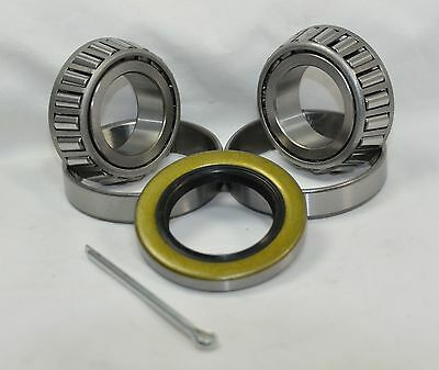 New Trailer Bearing Kit K1-100 2,000 lb L44643/10 L44643/10 Bearings 34823 Seal
